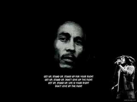 Bob Marley - Get Up Stand Up (lyrics)