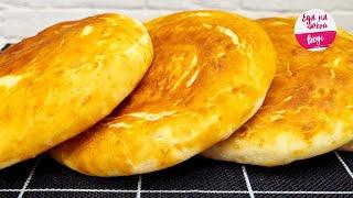 Тесто как ПУХ Перепробовала много рецептов но этот ЛУЧШЕ ВСЕХ Мягкие слоеные лепешки в духовке