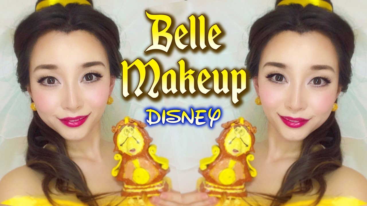 【美女と野獣】ベルメイク/ Belle Make up【Disney Beauty and the Beast】