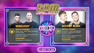 EPIQ BATTLE | Rebelion vs Sound Rush