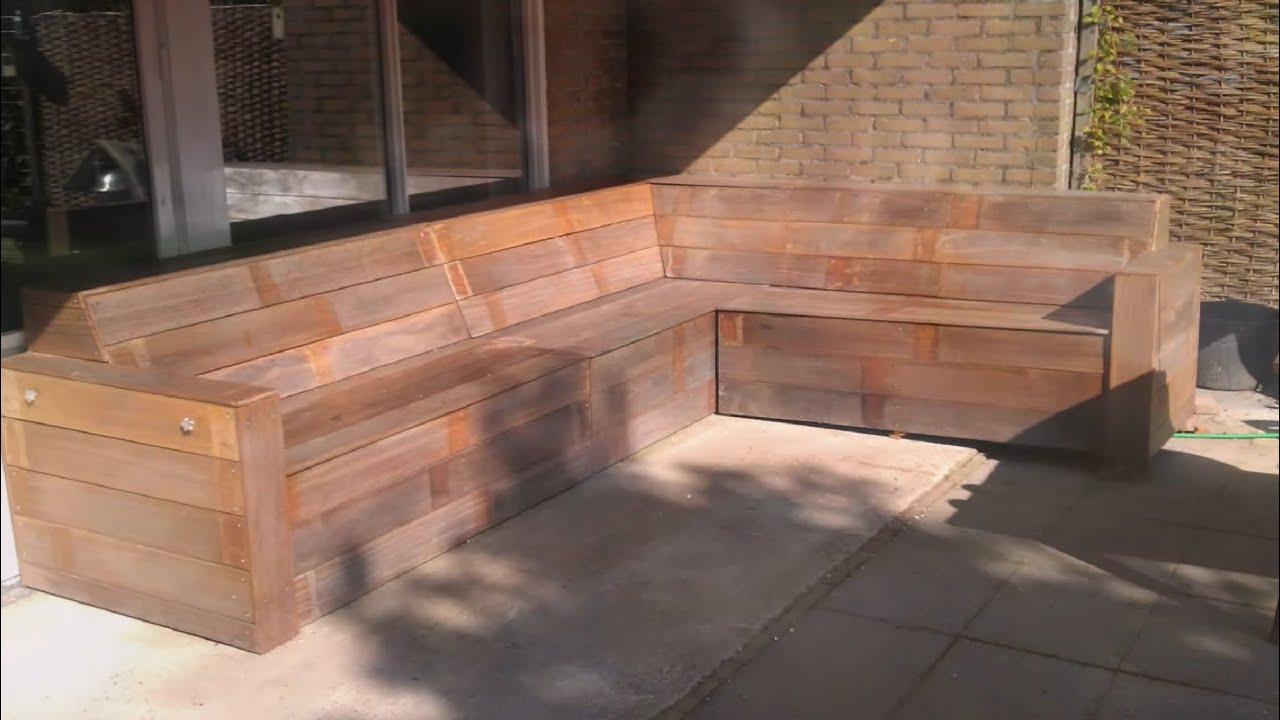 How to build a garden lounge sofa - DIY with Nicole