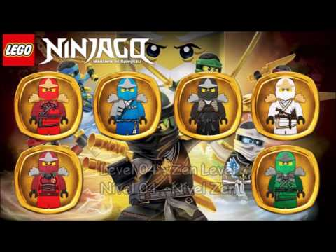 LEGO Ninjago - WU-CRU All Levels Suits
