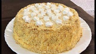ТОРТ «МОРОЗКО»! Зимний торт с кремом «Пломбир»!