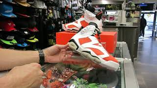 Nike Air Jordan 6 Gatorade, at Street Gear Hempstead NY