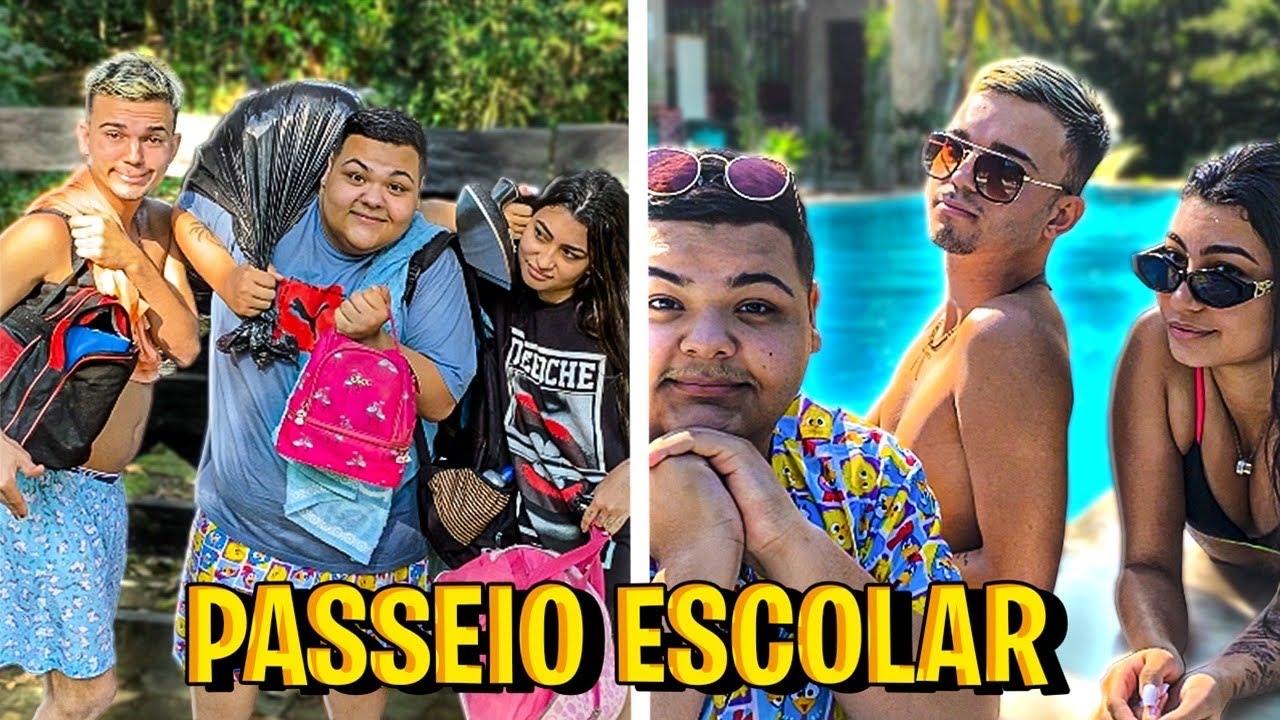 RICO VS POBRE - NO PASSEIO DA ESCOLA