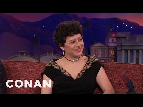 "Alia Shawkat Has 24 Hours Of Sex In ""Duck Butter""   CONAN on TBS"