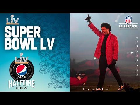 Super Bowl LV | The Weeknd | Show de medio tiempo