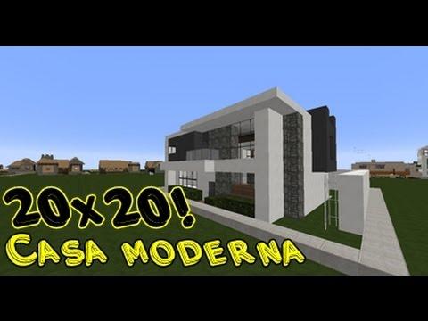 15 20x20 casa moderna fallas tecnicas minecraft for Casa moderna 10 x 20