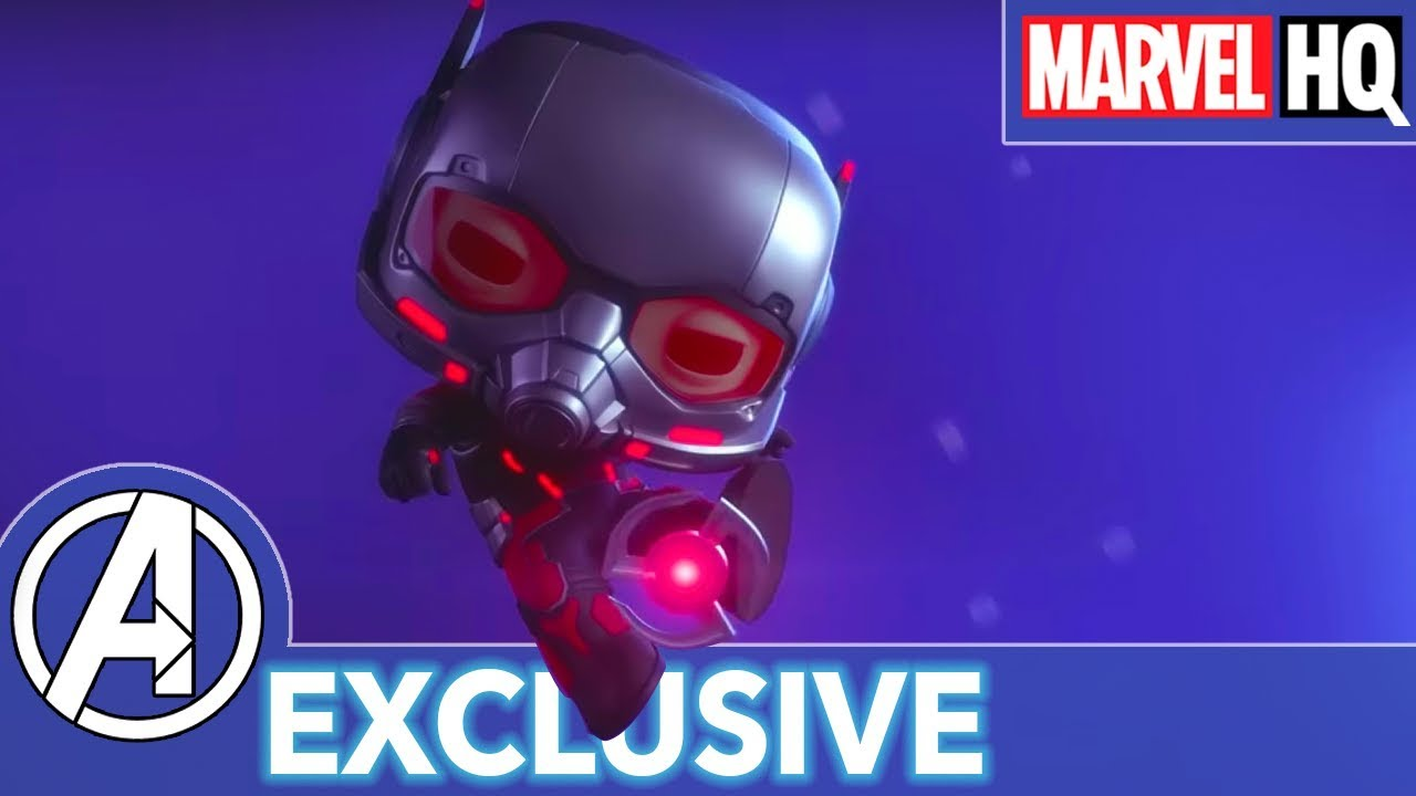 Ant-Man's Robot Rumble! | Marvel Funko Presents: Big Robot Little Problem (stars Ant-Man, Ultro