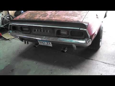 Dodge Challenger 360 Purple Shaft build from 1986