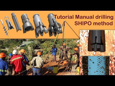 Tutorial Manual Borehole Drilling, SHIPO Method