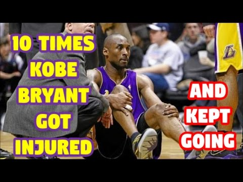 10 Times Kobe Bryant was Injured but REFUSED to Quit || Part 1 of 2 ||
