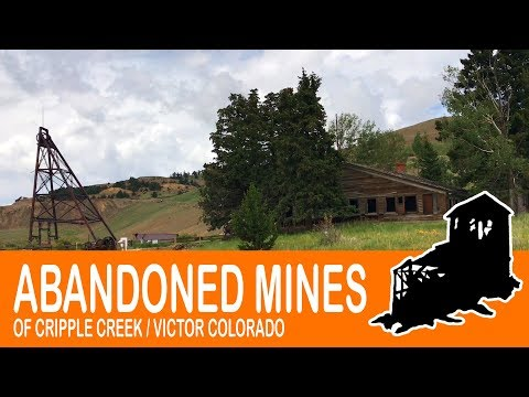 Hiking The Abandoned Mines In Cripple Creek & Victor Colorado