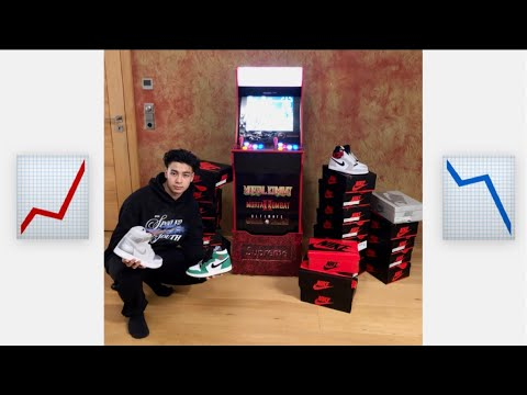 Huge Investment - Supreme x Mortal Kombat Arcade 1UP Machine - Gameplay - Sell or Hold - Deutsch from Sneaker Stock Market