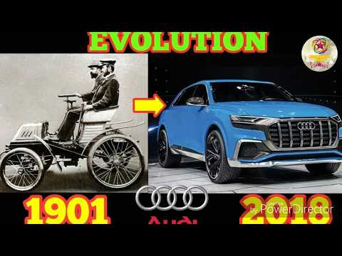 Evolution Of Audi From 1901 - 2018