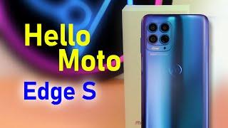 Motorola Edge S - первое знакомство и впечатление! Snapdragon 870