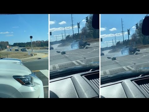 High-Speed Chase Spins Out Of Control On Highway