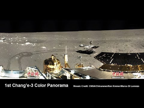 Did China's Chang'e 3 Land In The Middle Of A Crash Site On The Moon? ~ 2017