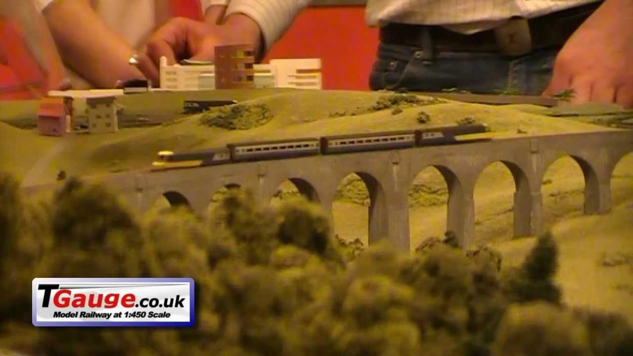(New series) Model Rail Scotland 2011, T-Gauge (Part 1)