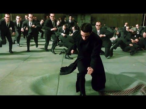 Download Neo vs Smith Clones [Part 2] | The Matrix Reloaded [Open Matte]