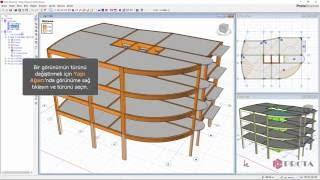 ProtaStructure ile Modelleme - Çoklu Pencere Sistemi