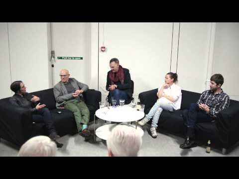Beatrice Gibson, Siobhán Hapaska, Jimmy Merris and Roger Palmer In Conversation with Adrian Searle