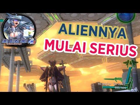 Masalah Baru Untuk Bumi - Earth Defense Force 4.1 Gameplay Indonesia