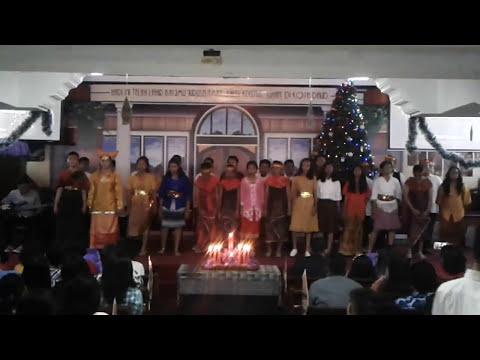 Natal Komisi Pemuda & Komisi Remaja GKO Bekasi 1 thn 2016 - VG Remaja (Seperti Palungan)