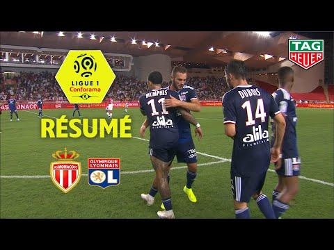 AS Monaco - Olympique Lyonnais ( 0-3 ) - Résumé - (ASM - OL) / 2019-20