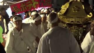 【追加】 向粟ヶ崎秋季祭礼 五二三会 御神輿 2017