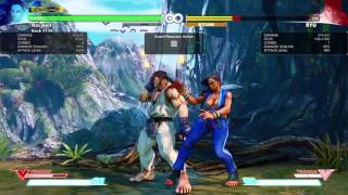 Laura 999 stun reset and 50/50 cross up setup