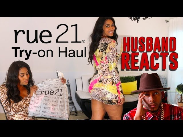 Husband Reacts To My THIRST TRAP OUTFITS ???? | Rue21 Try On Haul