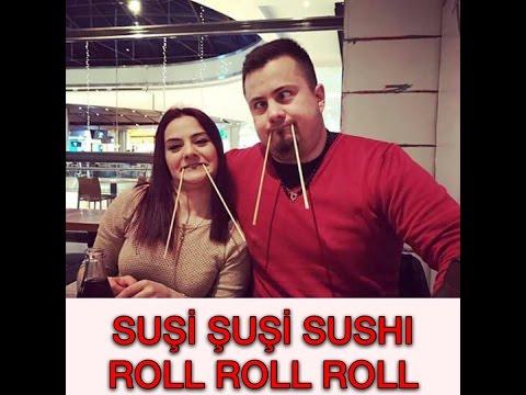 İLK DEFA SUSHİ YEDİK!