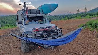 THE BEST WAY TO HAMMOCK ON YOUR TRUCK CAMPER - MCLEAN METALWORKS FOLDABLE MOUNT
