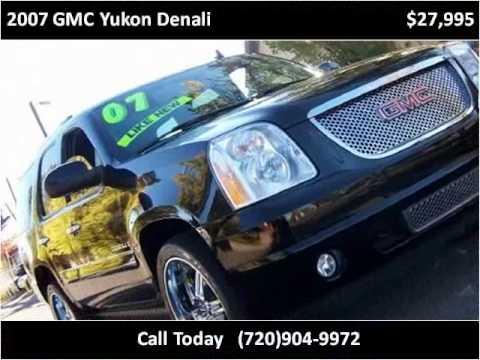 Levis Auto Sales >> 2007 Gmc Yukon Denali Available From Levi S Auto Sales Youtube