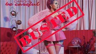 Cardi B new single Be Careful Was Stolen!