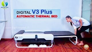 Digital Spine V3 Plus Korean Thermal Massage Bed - 13 Modes