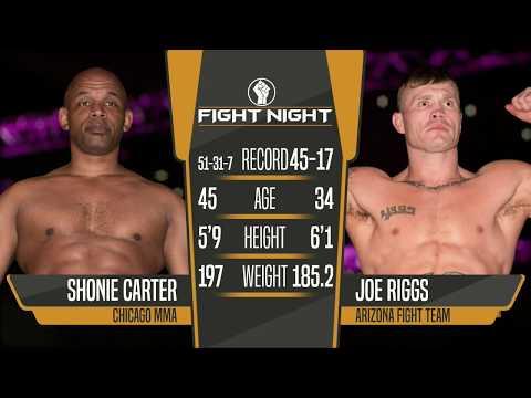 "Fight Night 4: Medicine Hat - Joe ""Diesel"" Riggs vs ""Mr. International"" Shonie Carter"