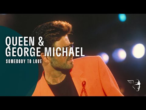 Queen & George Michael  Somebody to Love The Freddie Mercury Tribute Concert