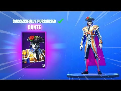 New rosa and dante skins gameplay in fortnite battle - Fortnite dante ...