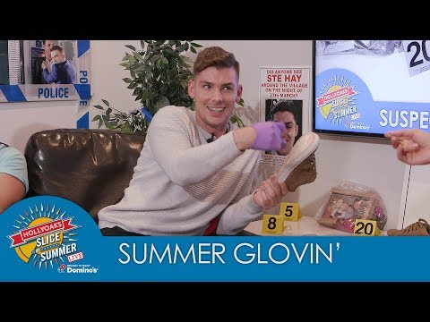 Hollyoaks Slice of Summer: Summer Glovin' With Kieron Richardson