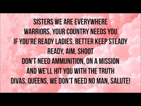 Little Mix- Salute (lyrics)