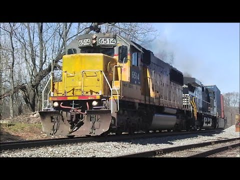 NS Max Speed 60MPH Intermodal GEVO K5HL #7576 & Dash 9 #8945 - Rootstown OH June 2017 from YouTube · High Definition · Duration:  2 minutes 12 seconds  · 141 views · uploaded on 6/21/2017 · uploaded by Corner Field Hobby Railfan