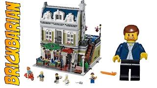 Lego Investing Set 10243 Parisian Restaurant