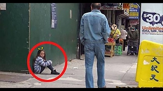 this homeless girl just wanted to find her mother but then that happened