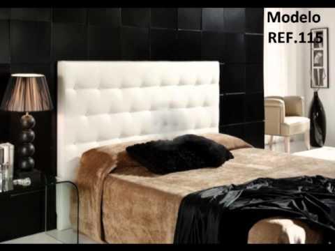Cabeceros de cama tapizados sedapiel s l youtube - Cabecero de cama ...
