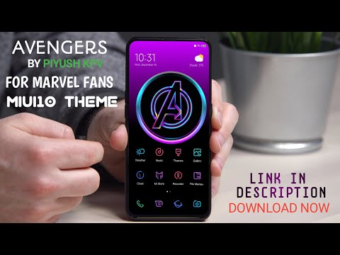 AVENGERS Theme For Miui10 ( MIUI 10 THEME FOR MARVEL FANS