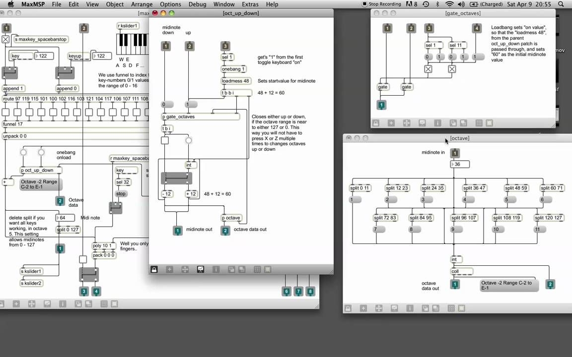Maxmsp tutorial 1 using your computer keyboard as midikeyboard maxmsp tutorial 1 using your computer keyboard as midikeyboard ableton style baditri Gallery
