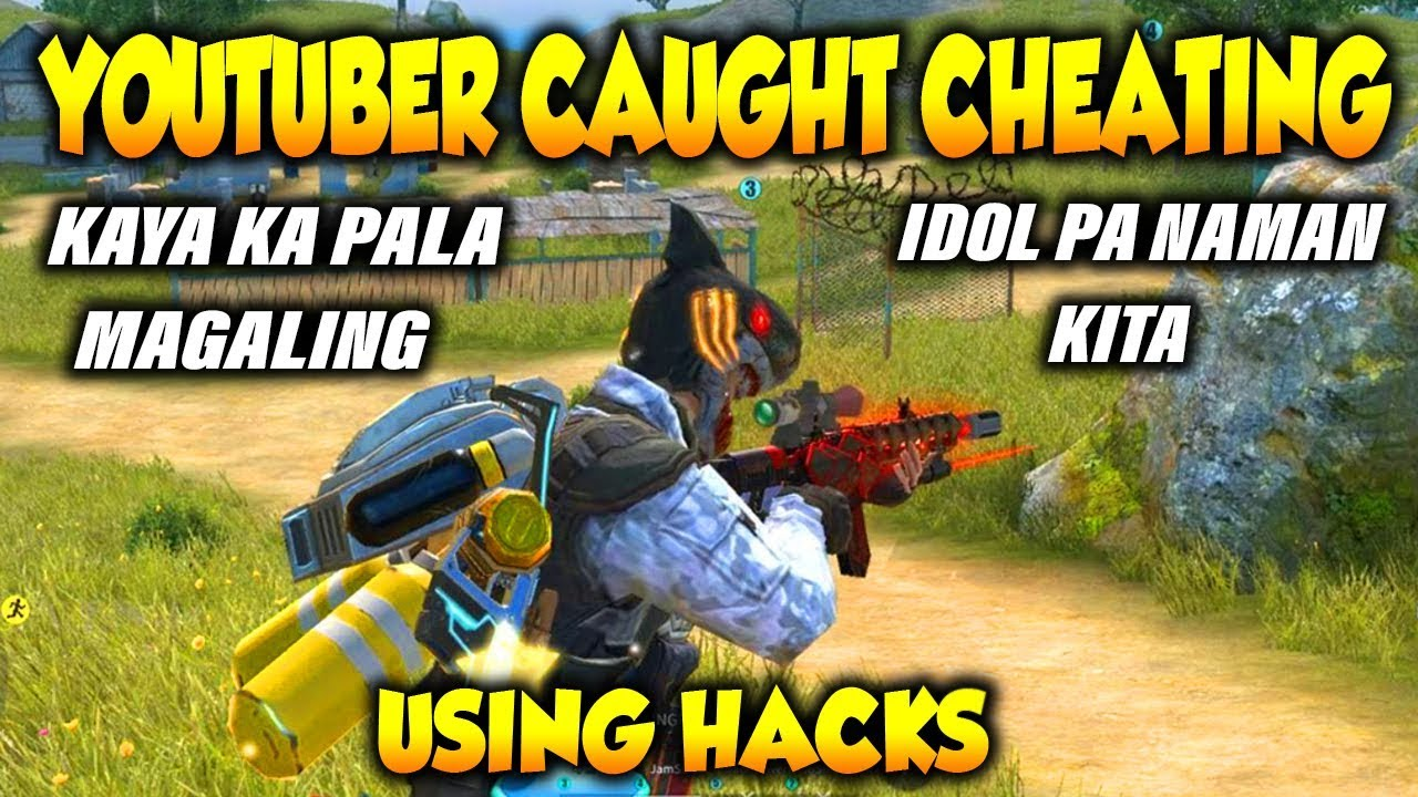 ROS YOUTUBER CAUGHT CHEATING ( USING HACKS )