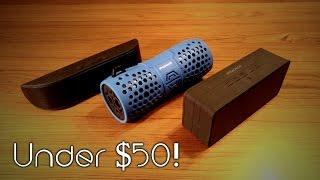 Budget Bluetooth Speakers Under $50!